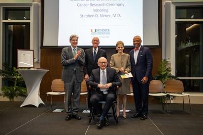Oscar de La Renta Endowed Chair in Cancer Research Honored Recipient Stephen D. Nimer, M.D.