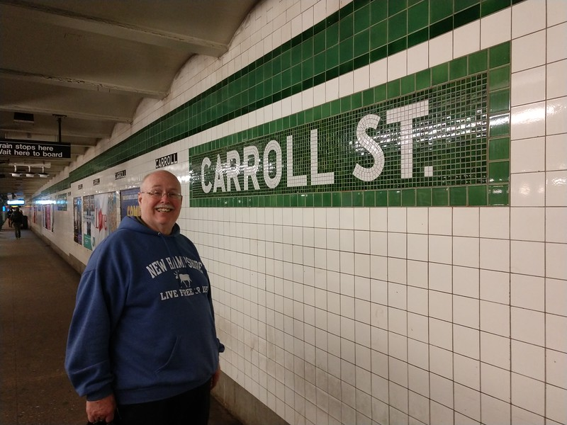 Tom M at Carroll St subway.jpg