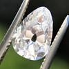 2.49ctw Antique Pear Diamond Pair GIA E VS2/GIA D VS2 11
