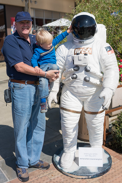 Bill, AJ, and the astronaut