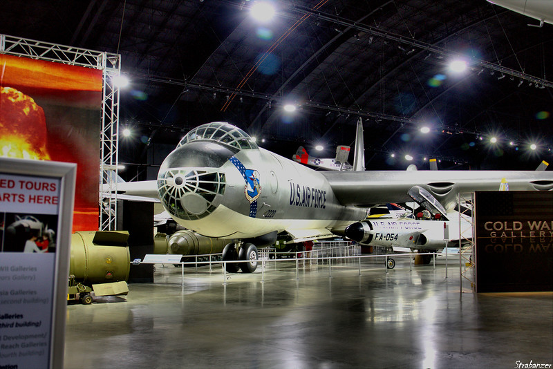 National Museum of the United States Air Force, Dayton, Ohio,   04/13/2019  Convair B-36J-1-CF Peacemaker c/n 361   52-2220  This work is licensed under a Creative Commons Attribution- NonCommercial 4.0 International License.