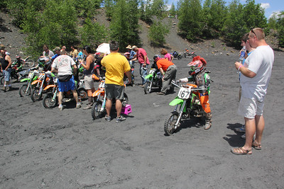 RORR Race, Day 1, Pee Wee, Mountains west of Tamaqua (6-23-2012)