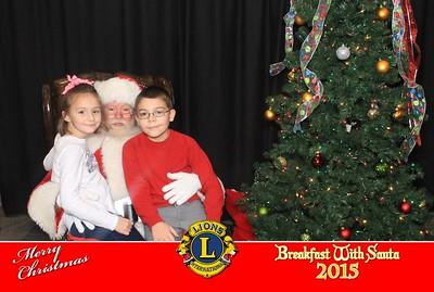 Lions Club - Breakfast with Santa - 2015