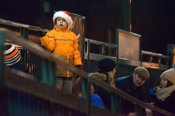12/08/16  Santa arrives in Ambler by train