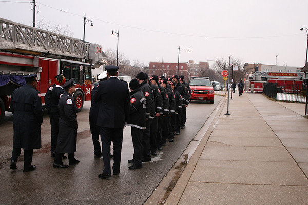 CHICAGO FIRE DEPARTMENT FUNERAL SERVICE FOR FIREFIGHTER COREY ANKUM FROM ENGINE CO#72 AND TOWER LADDER # 34