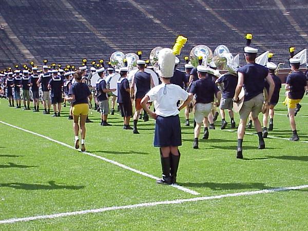 Stadium Rehearsal Field Level Photos