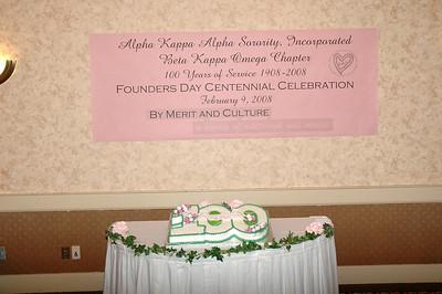 AKA Founders Day Centennial Celebration Feb 2008