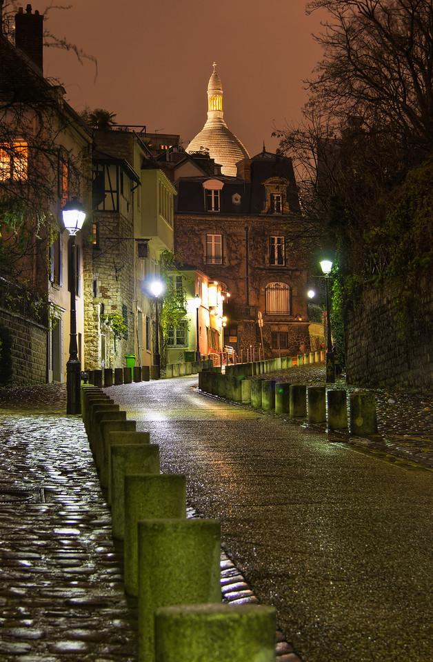 Rainy Montmartre