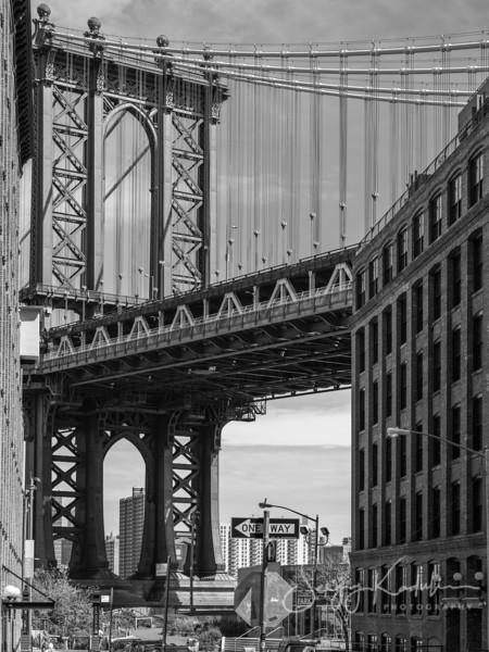Manhatten Bridge, NY