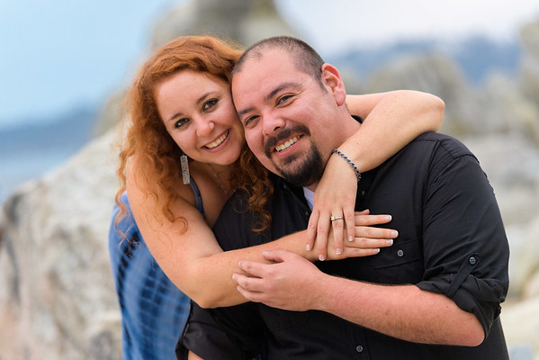 Laura and Steve (Engagement Photography) @ Stewart's Cove, Carmel, California