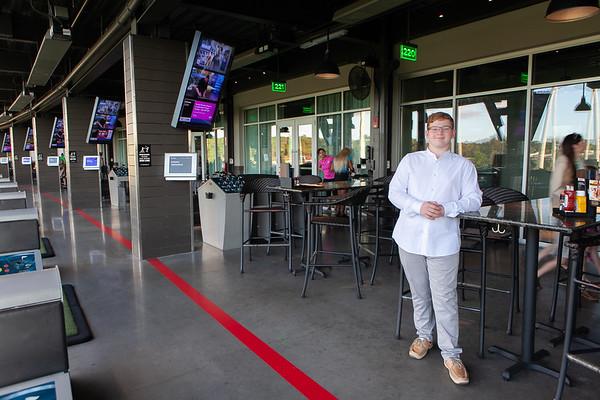 Yahli's Bar Mitzvah Celebration, Top Golf