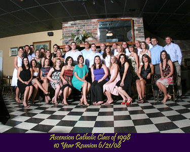 ACHS Class of 1998   10 Year Reunion