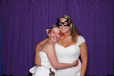 Jennifer and Christina Photo Booth Pics