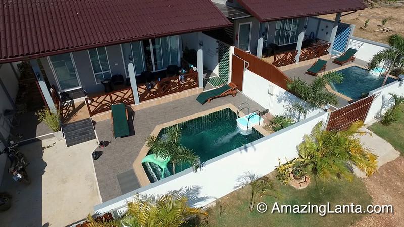 Villa Sita Aerial View