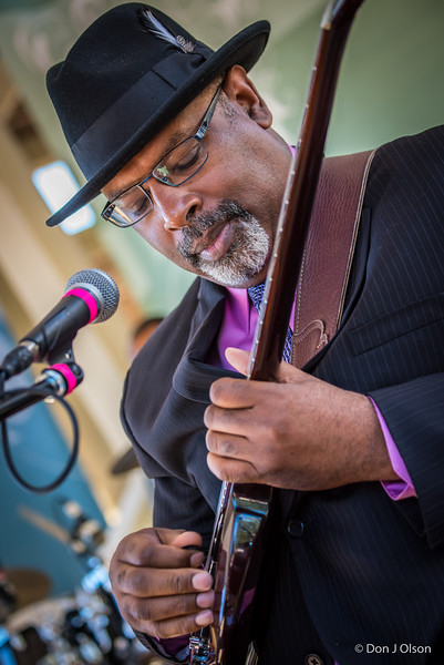 Junior Mack--Heritage Blues Orchestra--Rock Bend Folk Festival 25, St. Peter MN.