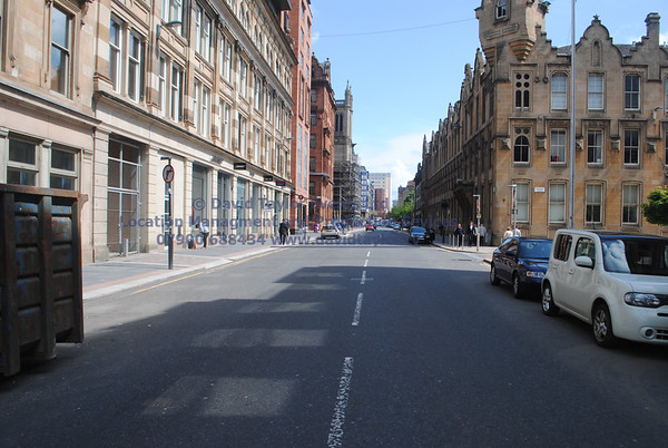 Glasgow streets