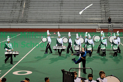 NMHS Marching Band at MAC Championships, Bridgeport, CT, November 13, 2010