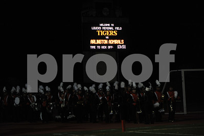 White Plains vs. Arlington, Friday, October 12, 2012, Tigers won 17-14