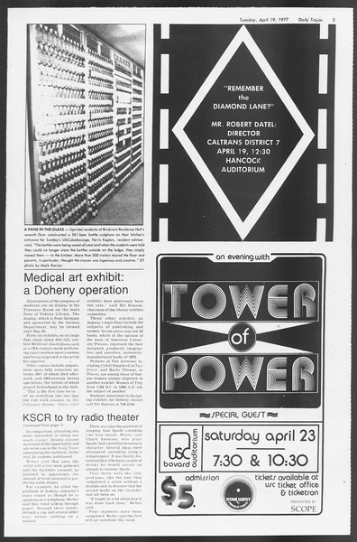 Daily Trojan, Vol. 71, No. 42, April 19, 1977