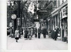 May 26, 1938: Broadway between Spring and Phila Street. (Courtesy of Saratoga Springs Historical Museum, George S. Bolster collection)