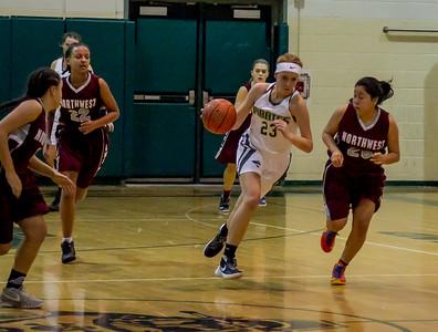 Girls Varsity Basketball v Northwest 11/29/2016