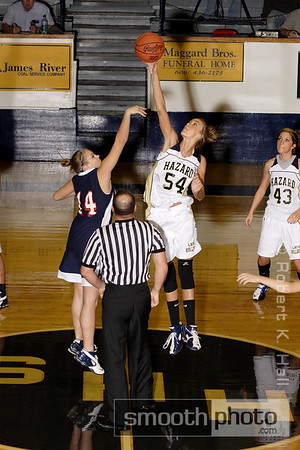 2008 Girls Basketball: Hazard and Knott Co. Central