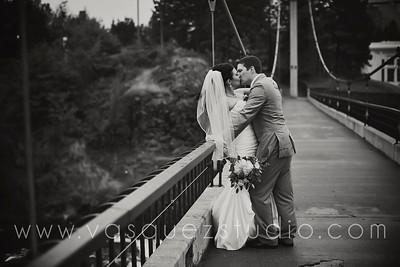 Adam + Nikki // Flour Mill, Spokane WA wedding by Vasquez Photography