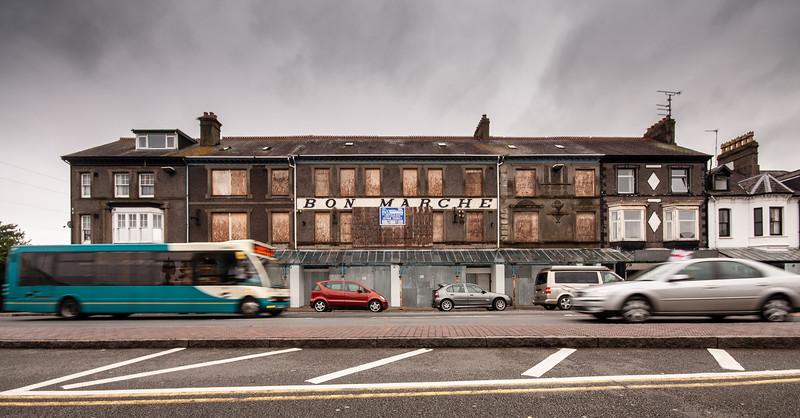 Bon Marche building in Pwllheli