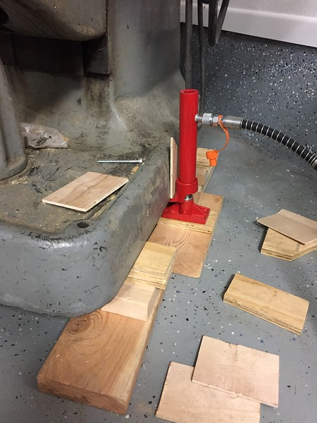 """Shimming by 1/2"""" per lift"""