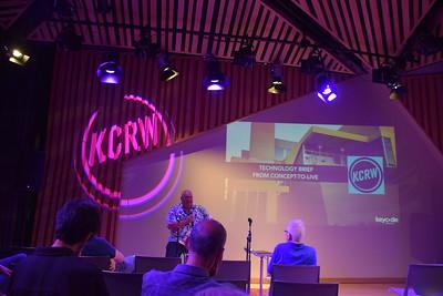 KCRW 89.9 FM Santa Monica tour