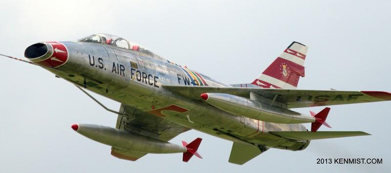 North American F-100F Super Sabre