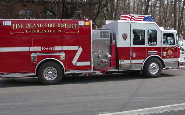Structure Fire Pine Island 3/13/15