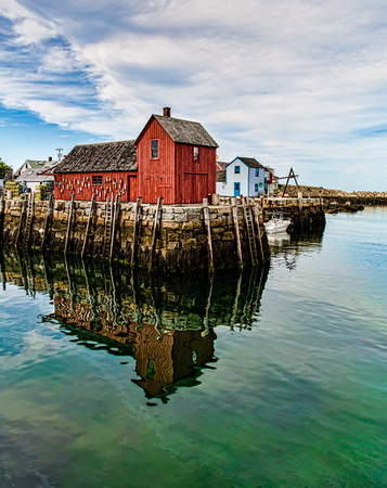 Rockport, MA:  Motif #1 and Halibut Point State Park