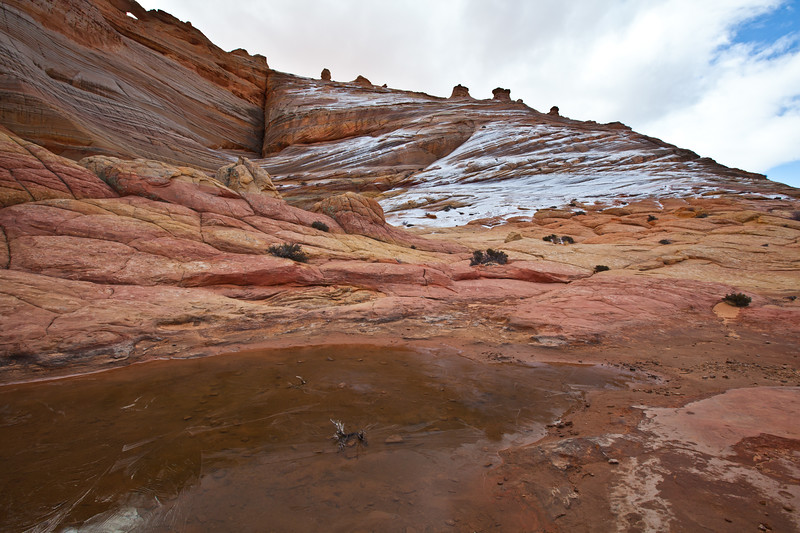 Ice & snow, North Coyote Buttes