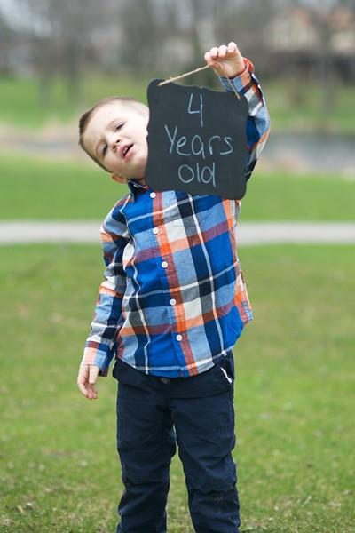 Shawn Thomas - 4 Years Old