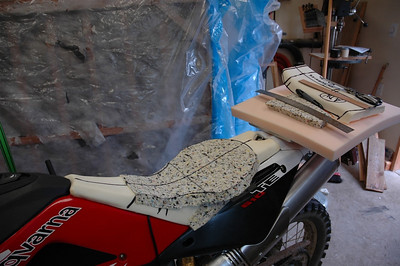 Rebuild of TE610 seat