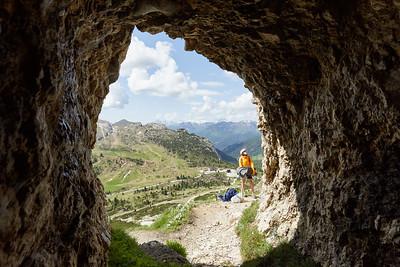 J14-15 - Passo di Valparola - Falesia Lagazuoi