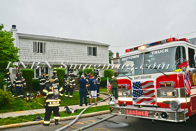 East Meadow F.D. House Fire 2184 4th Street 6-25-14