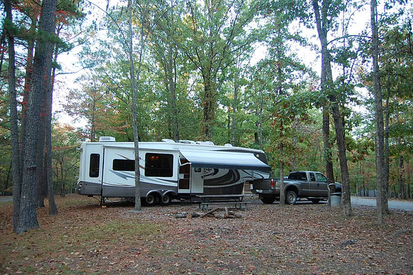 Journal Site 81:  David Crockett State Park, Lawrenceburg, TN - October 28, 2007