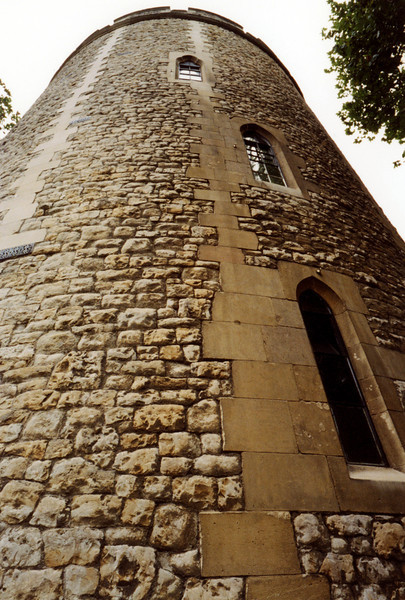 Look Up at the Tower of London