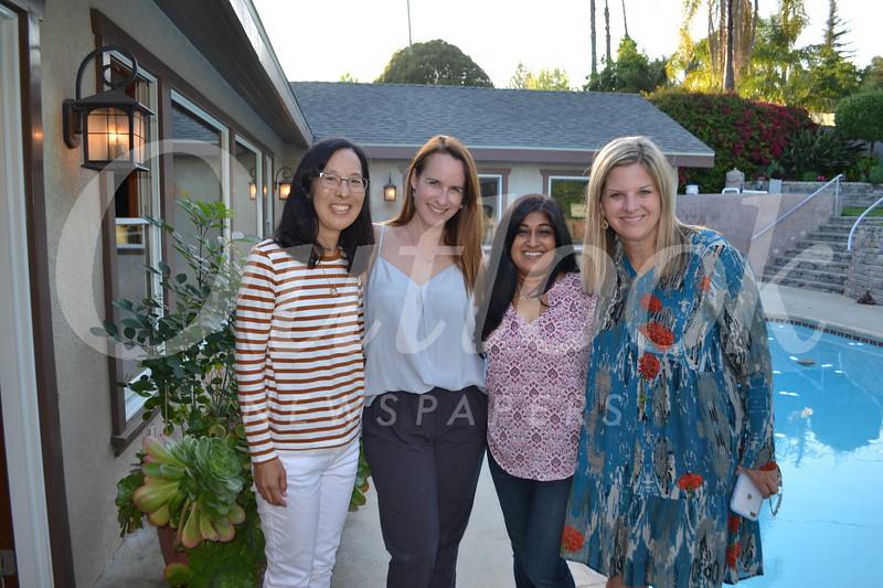 Ardath Yamaga, Christa Evans, Apala Parikh and Suzanne Jensen