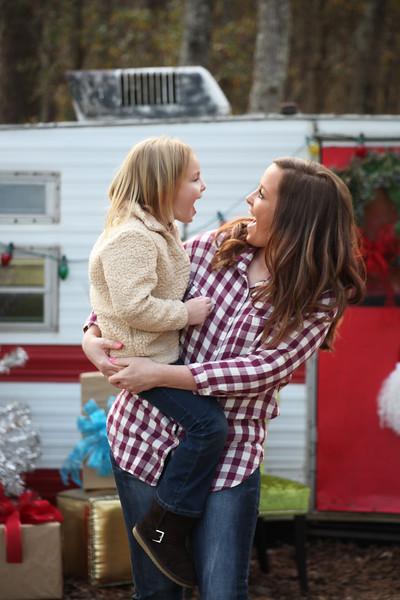 Megan and Mallory {Christmas}