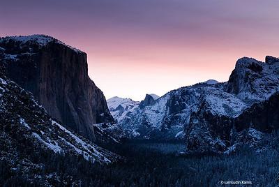Yosemite over the years