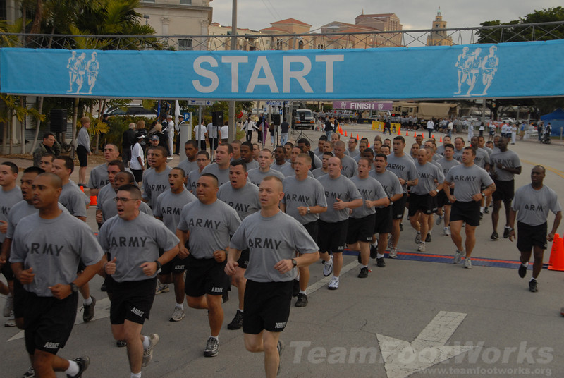 Tribute to the Military 5K