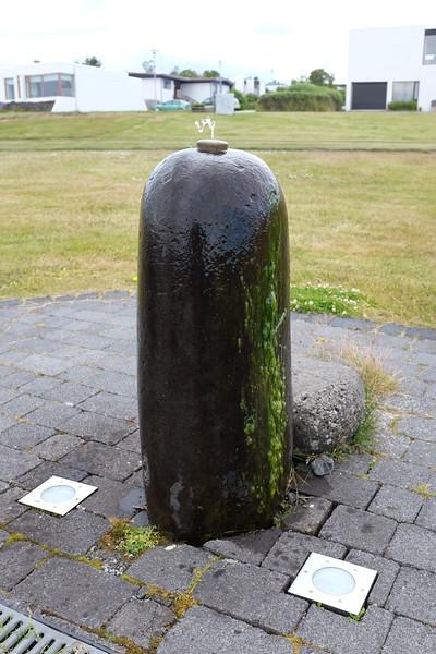 Reykjavik water fountain