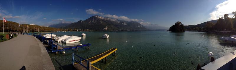 Panoramique! Lac D'Annecy