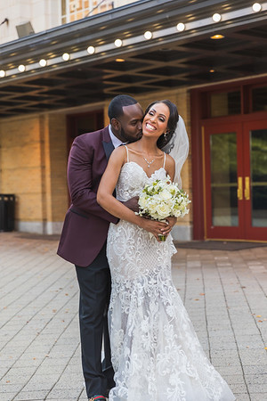 Melinda & Godfrey's Wedding :: Durham Convention Center :: AO&JO Photography * Videography (Raleigh Wedding Photographer)