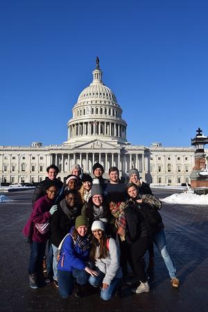 Bonner Scholars Visit DC