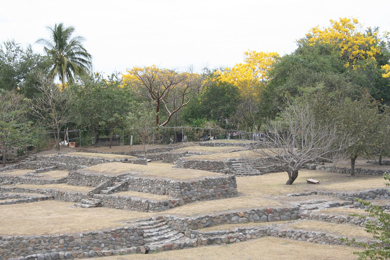 """ruins"" outside colima.. although i don't think they're very authentic"