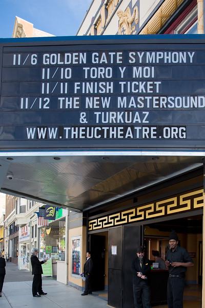 UC Theatre November 6,2016